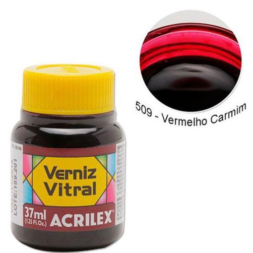 Pigmento Traslucido Acrilex Rojo 37ml