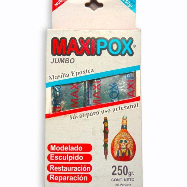 Masilla Epoxica Maxipox 250 gramos-silika