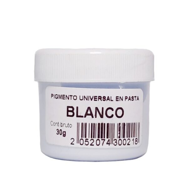 Pigmento Universal en Pasta Blanco 30gr