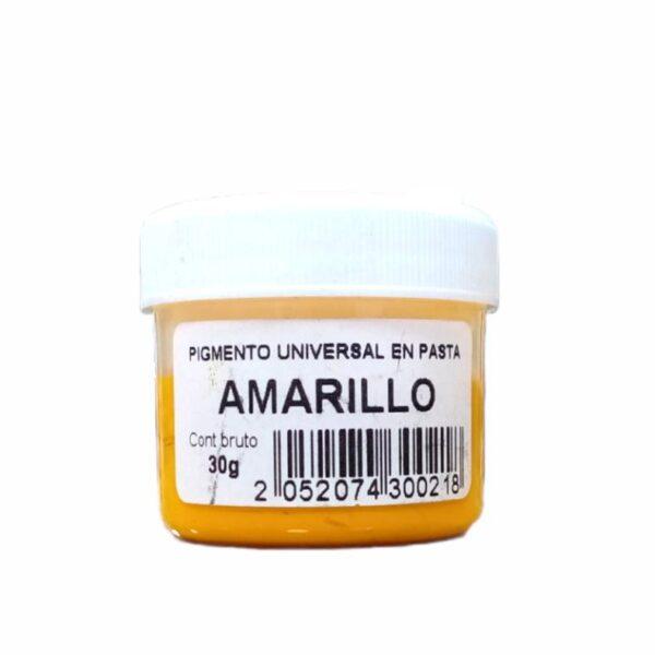 Pigmento Universal en pasta Amarillo 30gr-silika