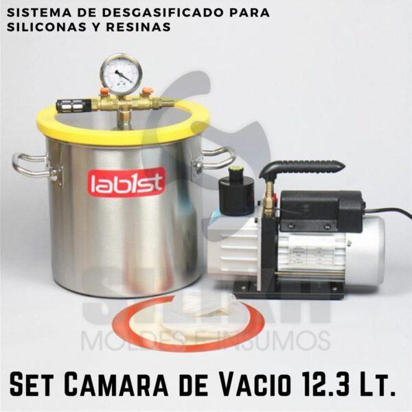 Set Camara Vacio 12.3 Litros SILIKA 1