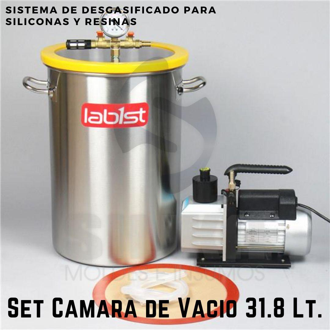 Set Camara de Vacio 31.8 Lt SILIKA 1