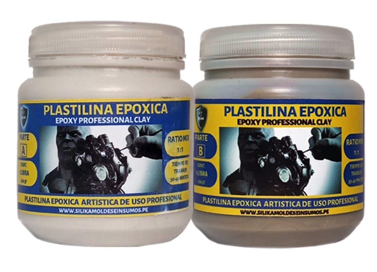 Plastilina Epóxica Silika Profesional Clay 2 libra