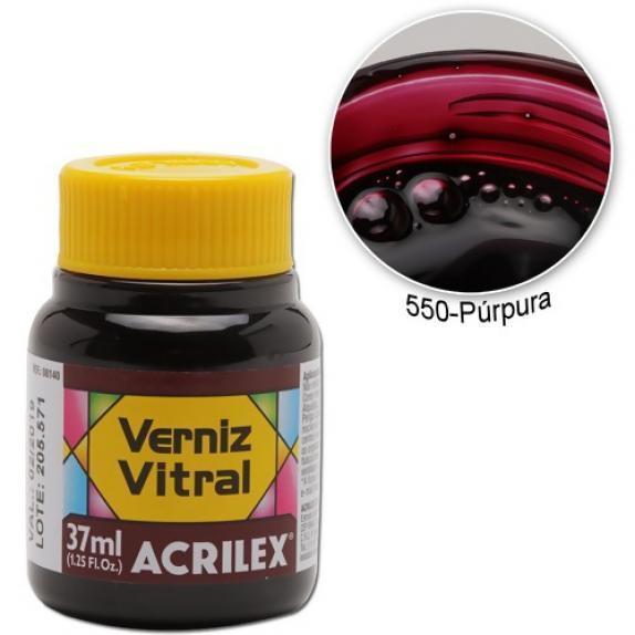 Pigmento Traslucido Acrilex Purpura 37ml