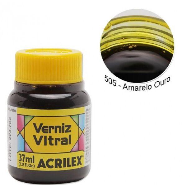 Pigmento Traslucido Acrilex Amarillo 37ml