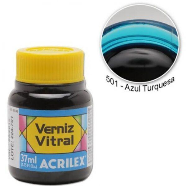Pigmento Traslucido Acrilex Azul Turquesa 37ml
