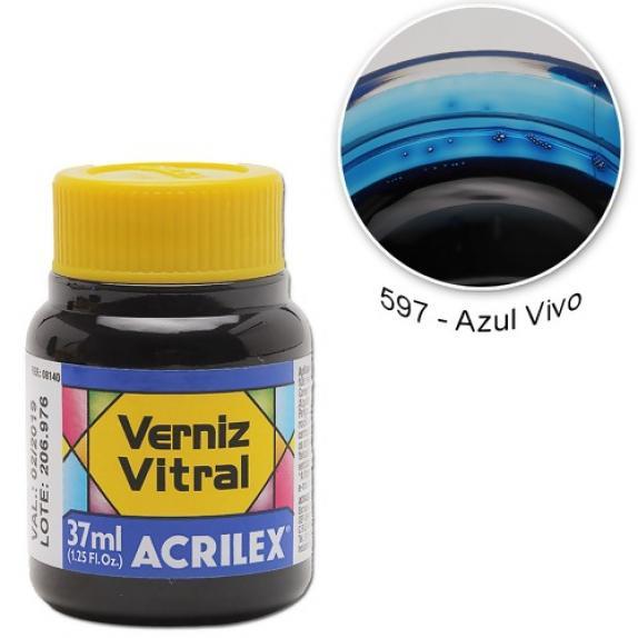 Pigmento Traslucido Acrilex Azul 37ml