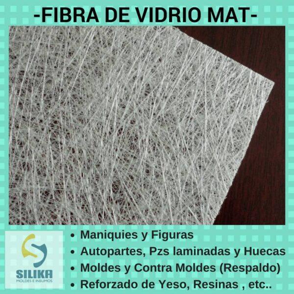 fibra-vidrio-mat-silika
