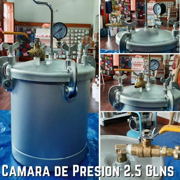 Camara de Presion 2.5 glns. Ready