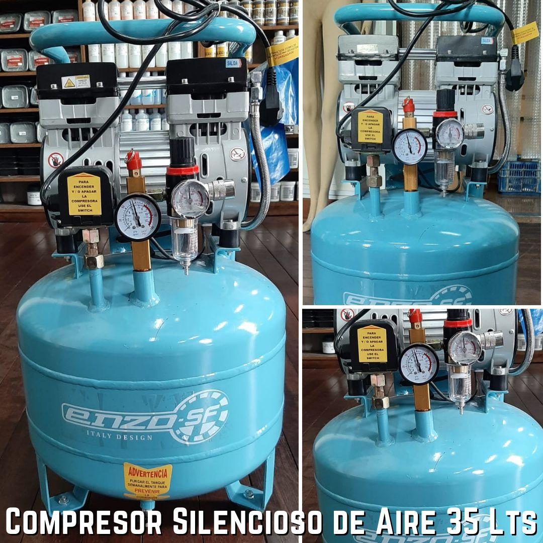 Equipo Compresor Silencioso 10 Glns