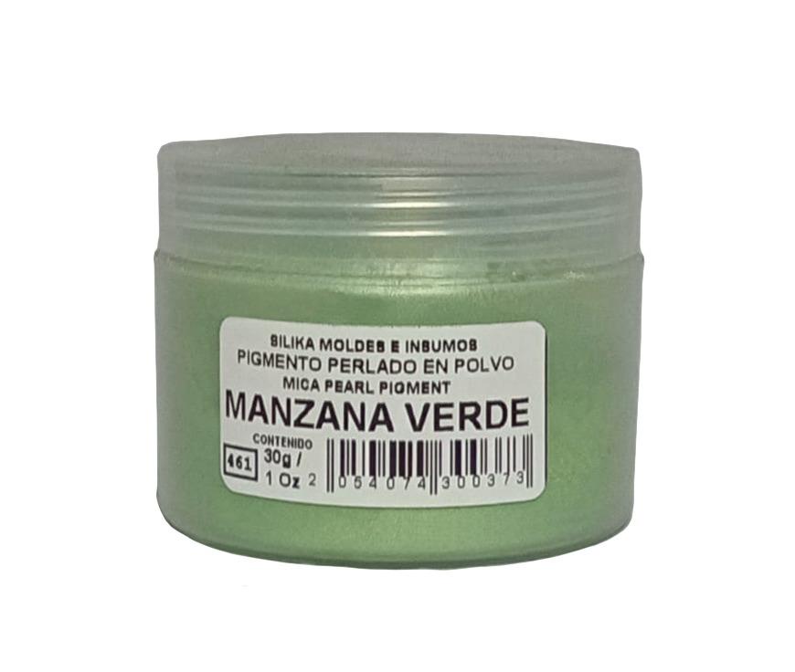 Pigmento Perlado en Polvo 30 gr Manzana Verde