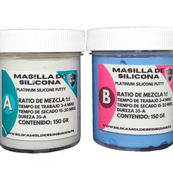 Masilla de Silicona Silika Dureza 35-A
