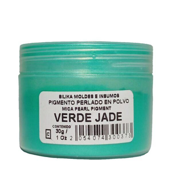 Pigmento Perlado en Polvo 30 gr Verde Jade