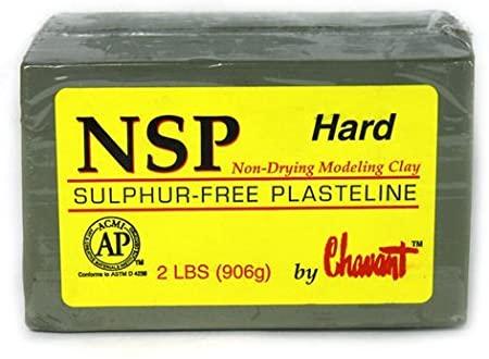 Plastilina Chavant NSP Hard Verde