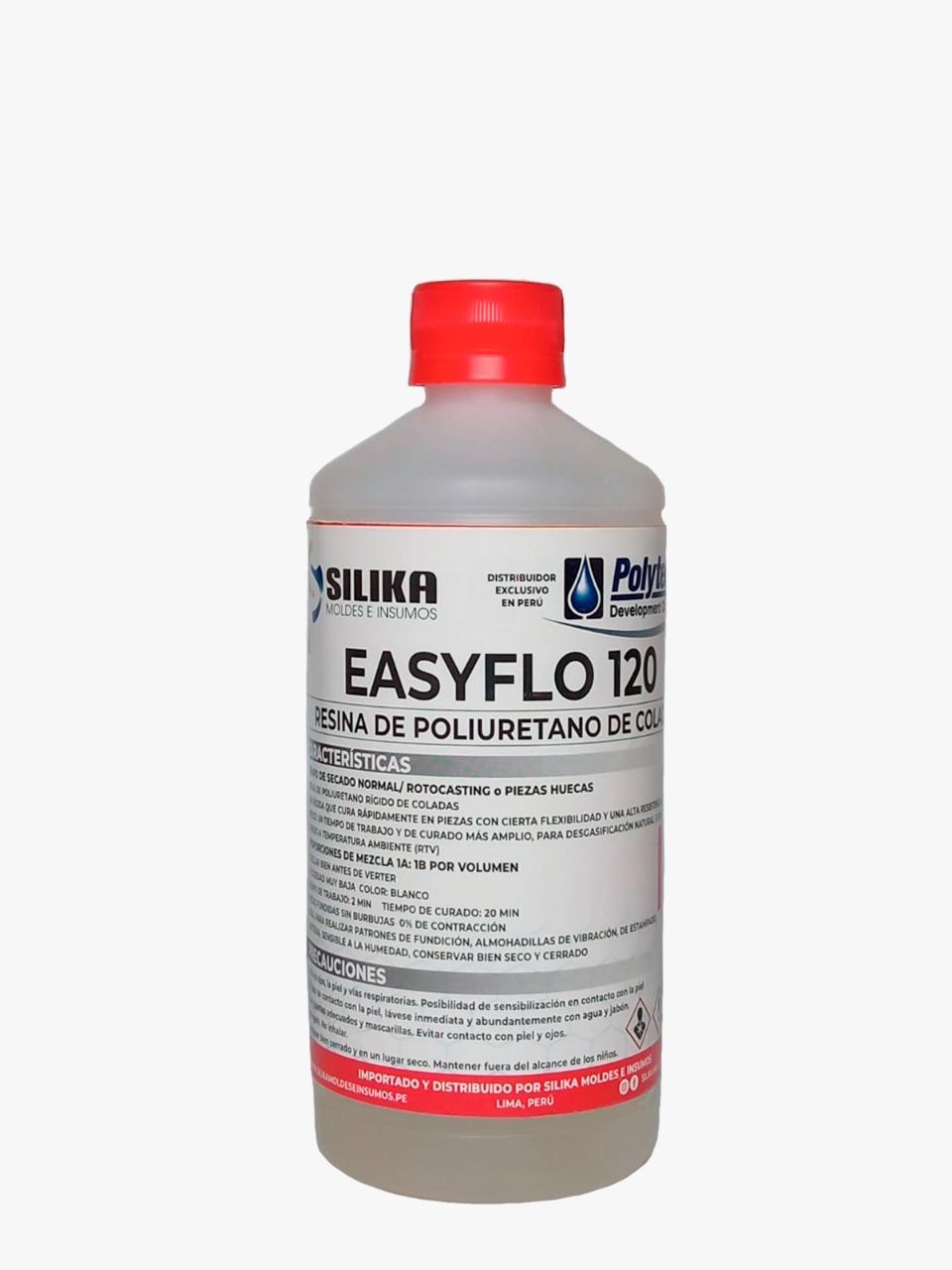 Resina de Poliuretano EASYFLO 120 Set 1000ml