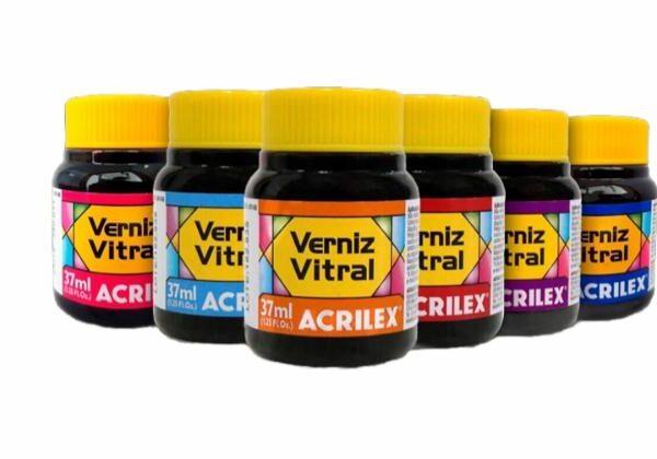 Set Pigmentos Traslucidos Acrilex 6und