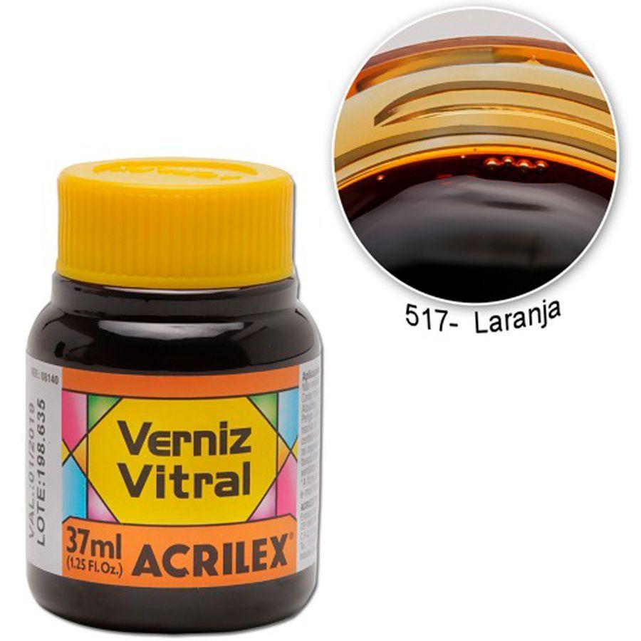Pigmento Traslucido Acrilex Naranja 37ml